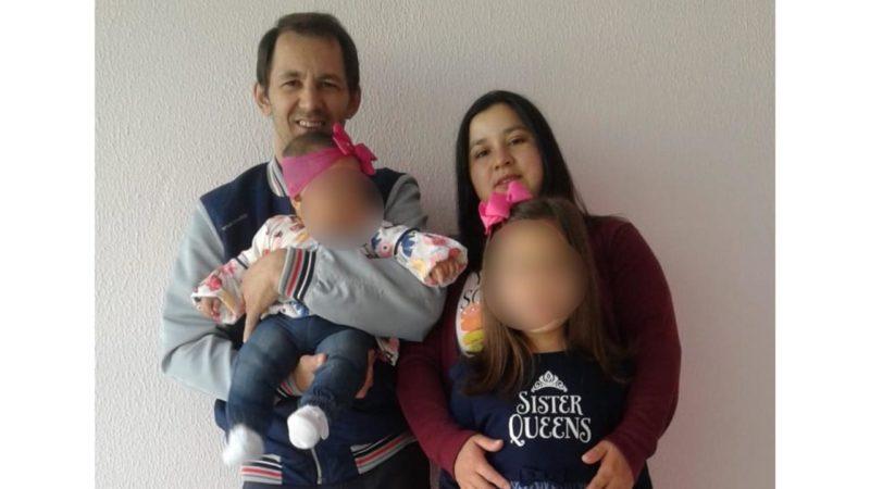 Bebê atingida por tiro em SC se encolheu e não chorou: 'Só pensei em salvar minha filha' – Foto: Arquivo pessoal/ND