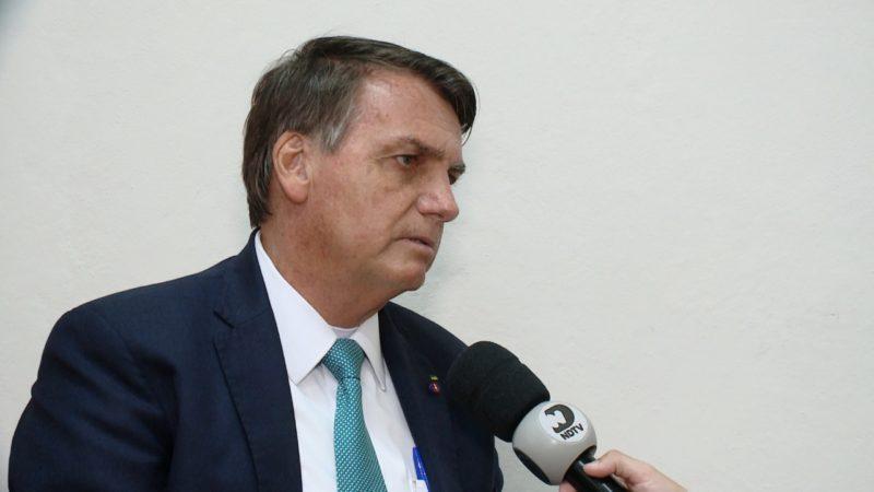 Presidente atacou Barroso e elogiou economia catarinense – Foto: Reprodução/ND