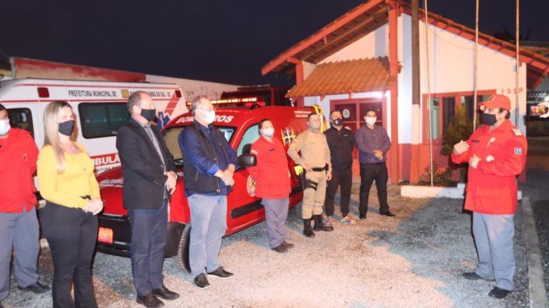 Corporação recebeu doação de viatura para resgate veicular de empresários – Foto: Divulgação/ND