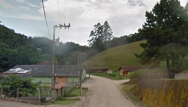 Ocorrência foi registrada pela polícia na rua Braço do Sul, na Vila Itoupava – Foto: Reprodução/Google Maps/ND