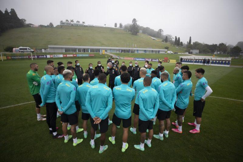 Seleção tem reencontro com a Argentina, agora pelas eliminatórias. – Foto: Lucas Figueiredo/FFC