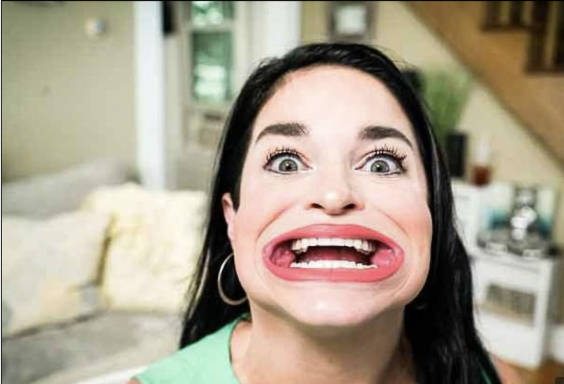 Em 2019, Samantha tinha apenas cerca de 300 centenas de seguidores nas redes sociais, mas agora tem 1,7 milhão de fãs dedicados no TikTok– Foto: Reprodução