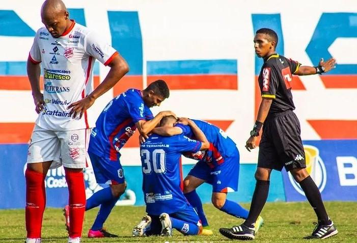 Marinheiro somou mais uma vitória na competição – Foto: Bruno Golembiewski/Marcílio Dias/Divulgação/ND