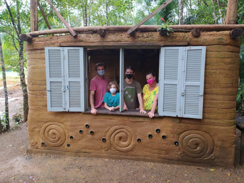 Construir a própria casa era sonho de família joinvilense – Foto: Juliane Guerreiro/ND