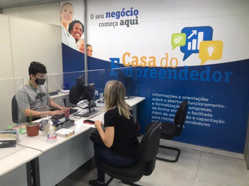 Casa do Empreendedor dá suporte a empreendedores – Foto: Divulgação/Decom/ND