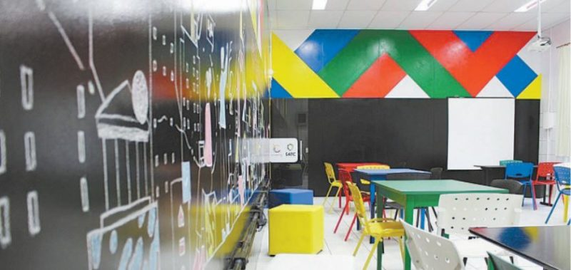 CoCreation Lab, idealizado para ser espaço colaborativo,como forma de gatilho para brotar a criatividade que existe em cada um de nós – Foto: Divulgação/ND