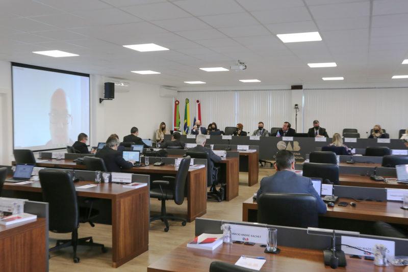 Conselho da OAB/SC entrega comenda para quatro homenageados nesta sexta-feira (6) – Foto: Ricardo Pereira/OAB/Divulgação