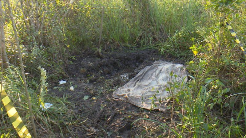 Local onde corpo foi encontrado
