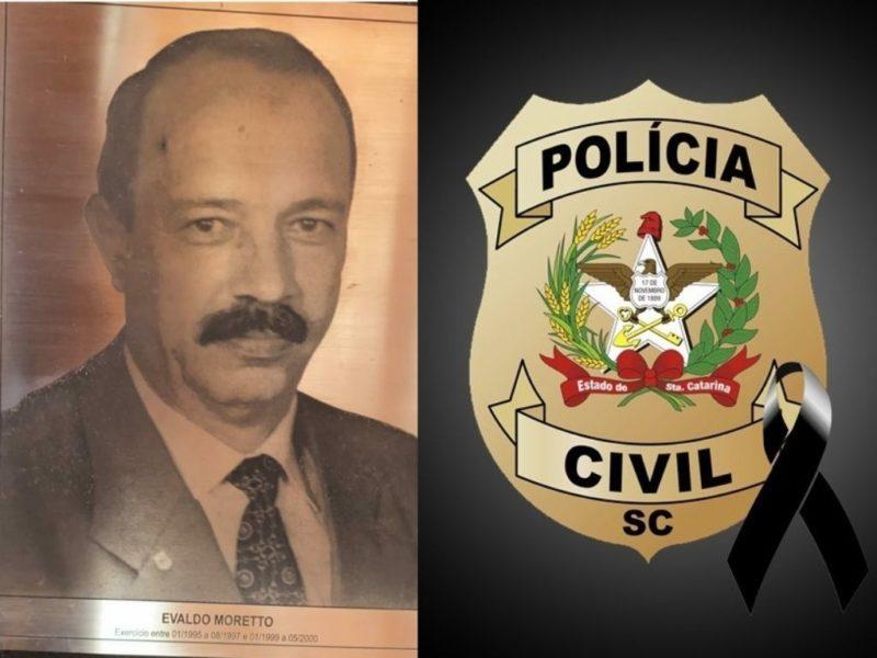 Delegado Evaldo Moretto morreu neste domingo – Foto: Divulgação/Polícia Civil