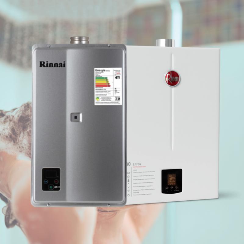 Aquecedores a gás digitais são mais indicados devido à eficiência energética – Foto: Divulgação