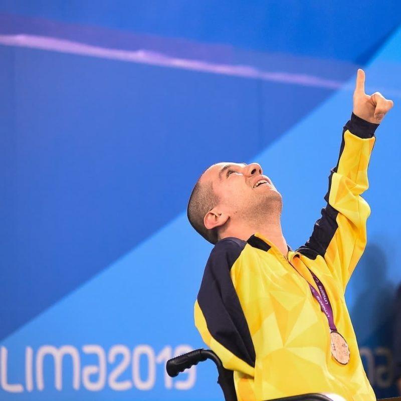Paratleta vai participar de sua primeira Paralimpíada – Foto: Divulgação/Bruno Becker/ND