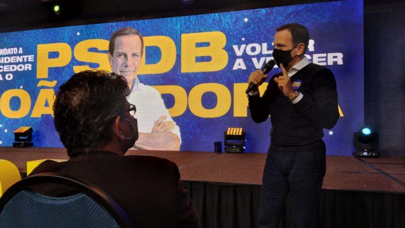 João Doria atacou Lula em Bolsonaro em Florianópolis