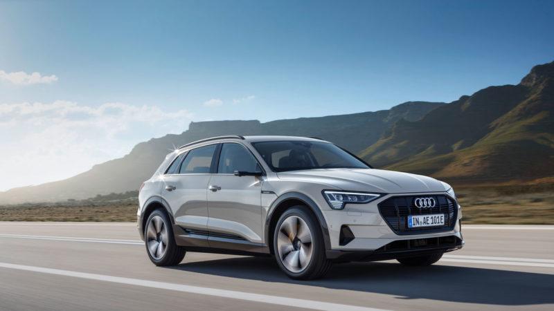 """<span style=""""font-weight: 400;"""">E-tron foi o veículo elétrico mais vendido em 2020</span> &#8211; Foto: Audi/Divulgação"""