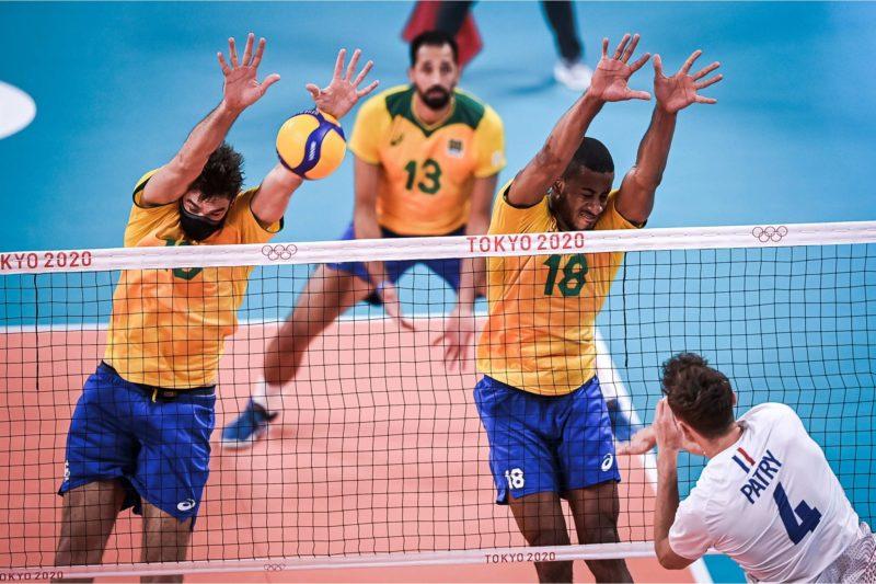 Brasil agora vai encarar a equipe do Japão nas quartas de final – Foto: World Volleyball/divulgação