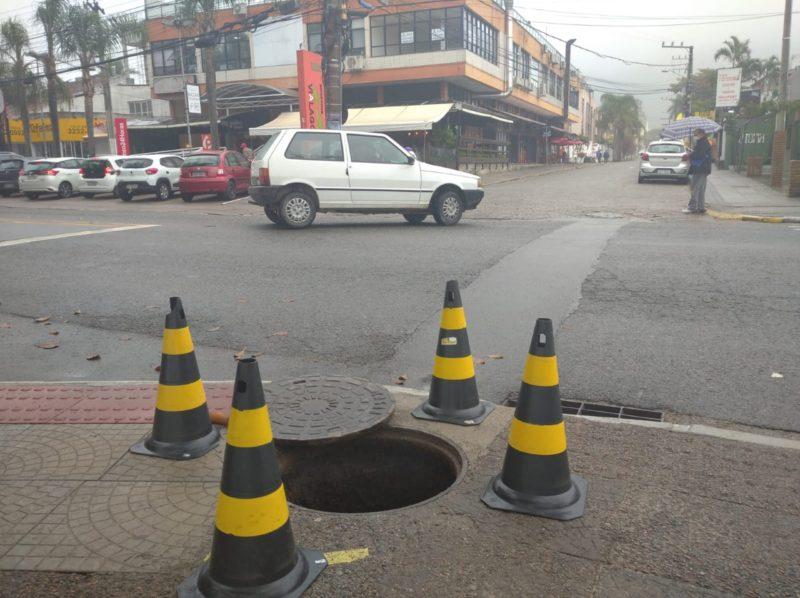 Esgotos a céu aberto preocupam Vigilância Sanitária de Florianópolis – Foto: Djone Joench/Floripa Se Liga Na Rede/Reprodução/ND