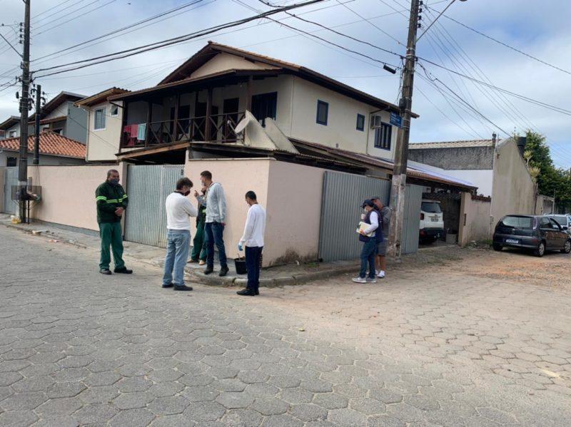 Condomínios no Sul de Florianópolis são intimados por crime ambiental – Foto: Djone Joench/Floripa Se Liga Na Rede/Reprodução/ND