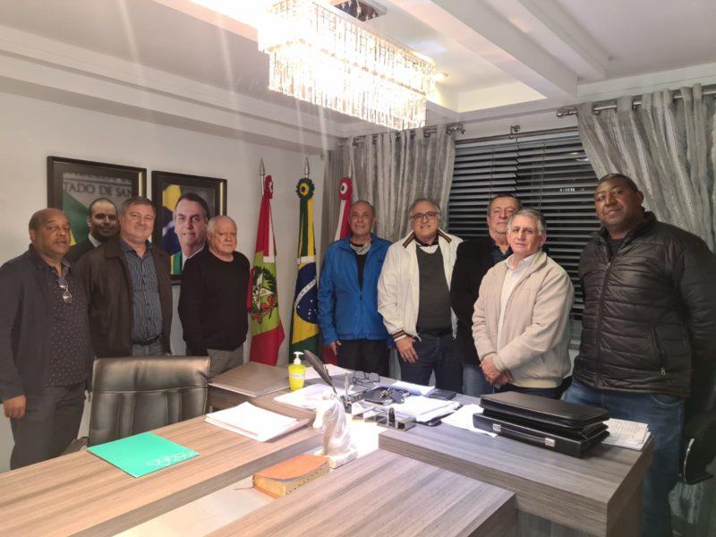 Executiva do PTB de Criciúma, sob o comando do pai do deputado Jessé Lopes, foi definida nesta semana – Foto: Divulgação