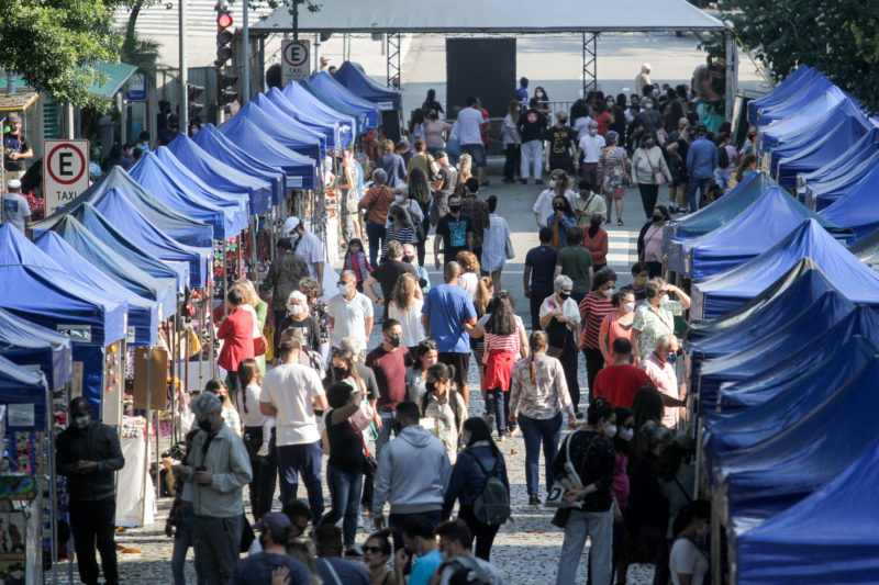 Eventos em Florianópolis ganharão nova definição na próxima semana - incluso o réveillon. Feira de Cascaes, realizado no mês passado, foi o primeiro evento-teste