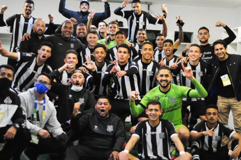 Figueirence vence o Santos no Campeonato Brasileiro de Aspirantes – Foto: Wanderson A. Rodrigues/Figueirense/Divulgação/ND