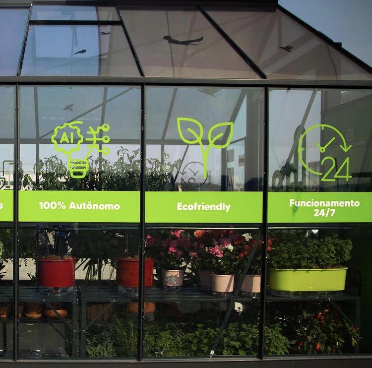Floricultura em Joinville é a primeira 100% autônoma do mundo. – Foto: Foto: Internet/Divulgação
