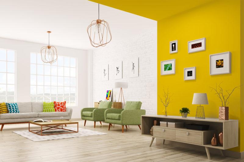 A vitalidade dos tons amarelos esbanja alegria, deixando tudo mais otimista e criativo. Foto/Divulgação Anjo