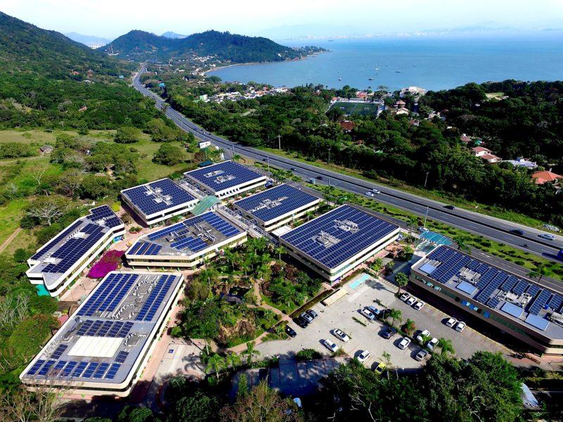 Corporate Park é referência em sustentabilidade na capital – Foto: Corporate Park