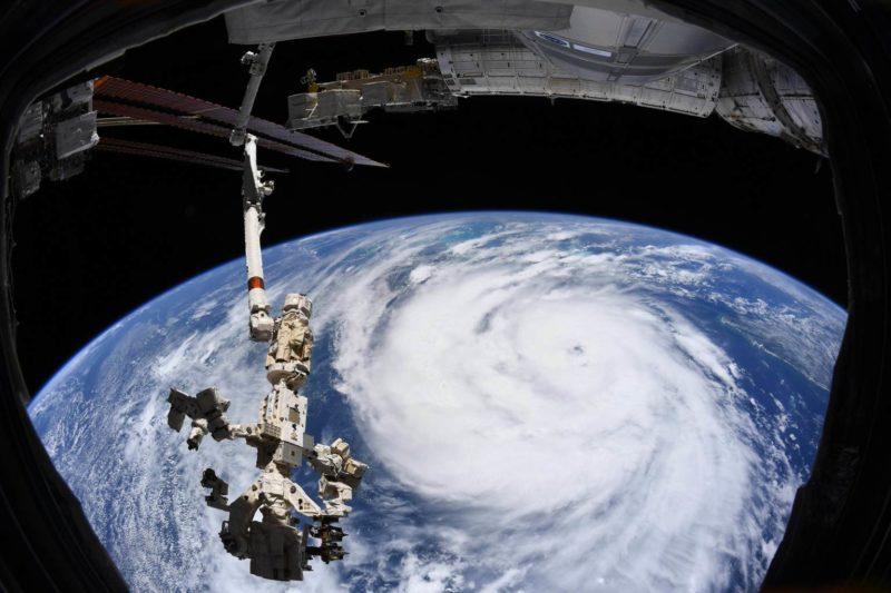 Imagens de satélite da NASA mostram avanço do furacão Ida e impressionam – Foto: Nasa/Reprodução/ND