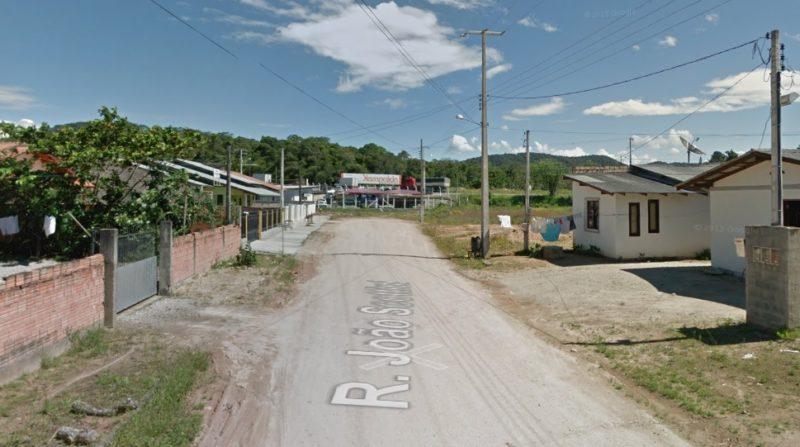 Ocorrência foi atendida pela PM no bairro Santa Terezinha, em Gaspar – Foto: Reprodução/Google Maps/ND