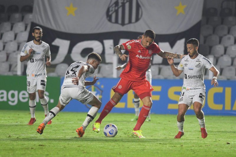 Guerrero tenta recuperar a titularidade – Foto: Ricardo Duarte/Inter/Divulgação