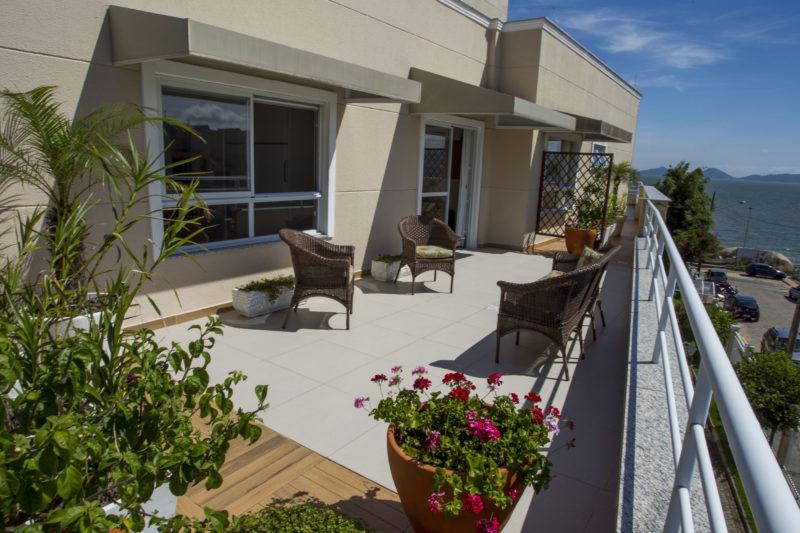Residência Geriátrica Santa Inês oferece espaços agradáveis e belos aos idosos – Foto: Herminio Nunes/ND