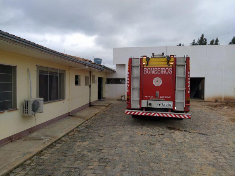 Princípio de incêndio foi registrado na cozinha do hospital