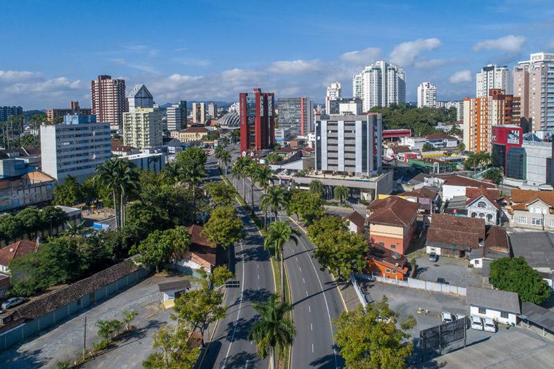 Joinville possui o maior PIB entre as cidades catarinenses – Foto: Fapesc/ Divulgação/ Juliano Cruz Fotografia/ ND
