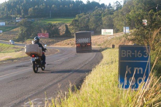 Trecho da BR-163 – Foto: Julio Cavalheiro/Divulgação/ND