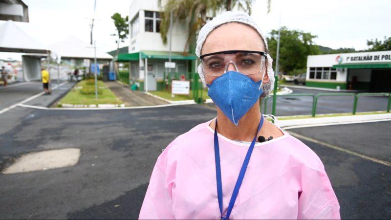 enfermeira Cleusa Maria