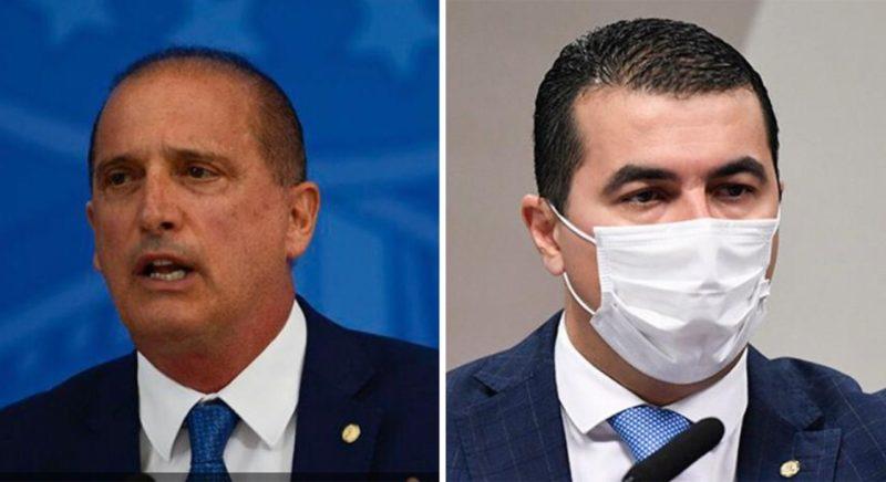 Acareação entre ministro do Trabalho, Onyx Lorenzoni e deputado federal Luis Miranda deve ocorrer na quarta (18) – Foto: Reprodução/Montagem