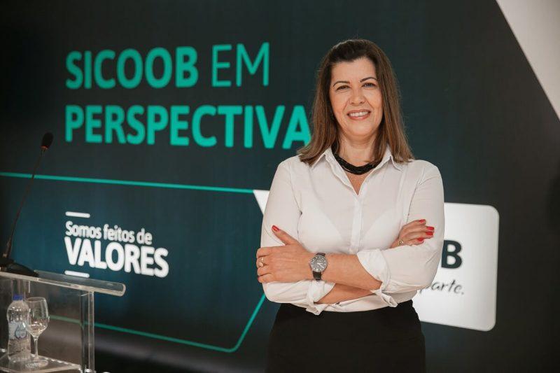 Diretora de Operações, Maria Luisa Lasarim – Foto: Sicoob em Perspectiva 2020/José Somensi