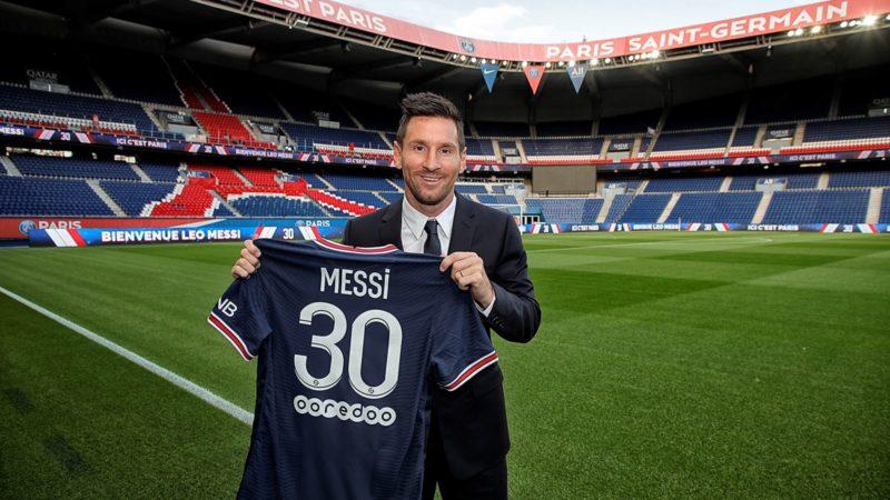 Nova estrela do PSG usará a 30 – Foto: C.Gavelle/PSG/ND