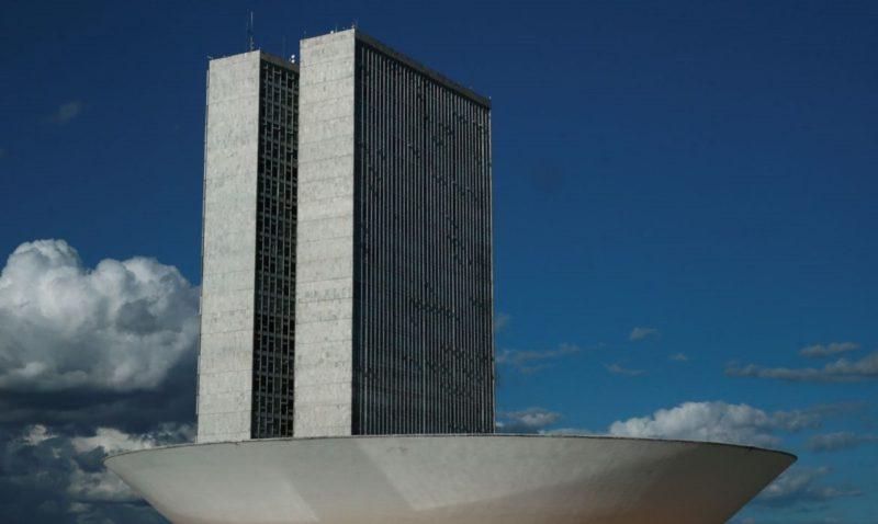 """A cúpula menor, voltada para baixo, abriga o Plenário do Senado Federal. A cúpula maior, voltada para cima, abriga o <a href=""""https://www.camara.leg.br/"""" target=""""_blank"""" rel=""""noopener noreferrer"""">Plenário da Câmara dos Deputados</a>. &#8211; Foto: Marcello Casal JrAgência Brasil/ND"""