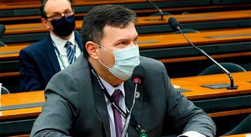 Coronel Marcelo Branco depõe na CPI da Covid nesta quarta (4) – Foto: Najara Araújo/ Câmara dos Deputados