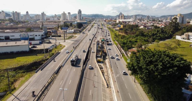 O trecho prioritário neste momento é entre o km 210 e km 205 – Foto: PRF/Divulgação/ND
