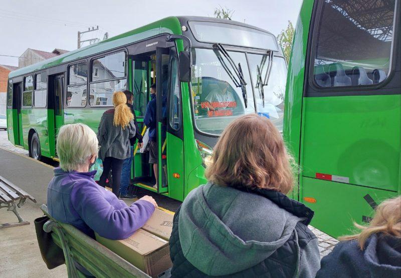 Com novo contrato, Jaraguá do Sul baixou a taxa de ônibus - Foto: Prefeitura de Jaraguá do Sul/Divulgação/ND