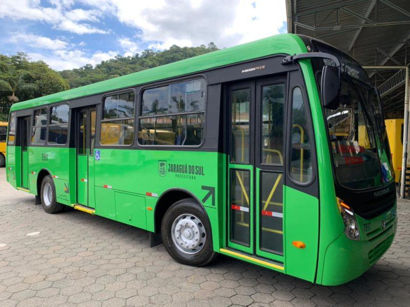 Ônibus em Jaraguá do Sul