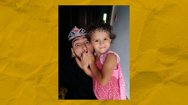O projeto Pai Paterno foi criado por Thiago para compartilhar experiências – Foto: NDTV/ Divulgação/ ND