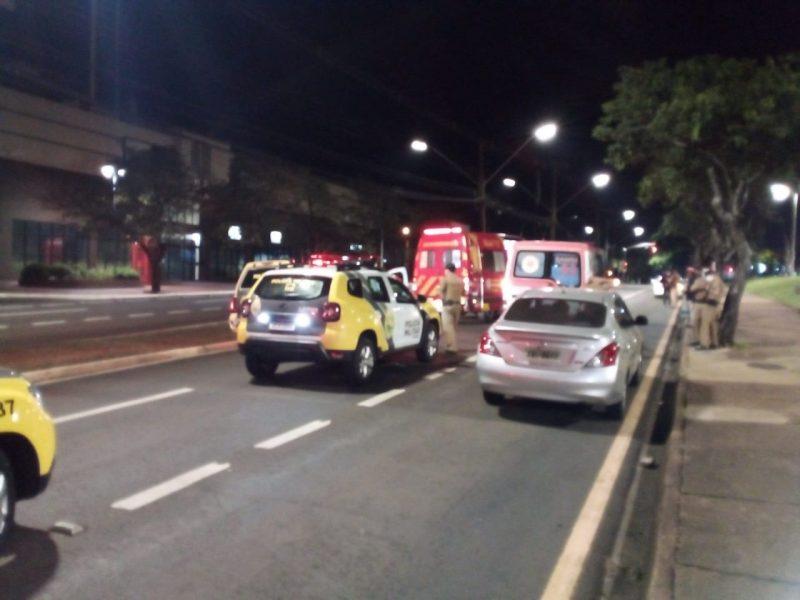 Acidente ocorreu durante a madrugada. – Foto: Divulgação/ND
