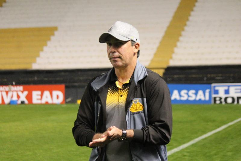 Paulo Baier destacou que resultado foi importante para resgatar a confiança do elenco – Foto: Celso da Luz/CriciúmaEC/ND
