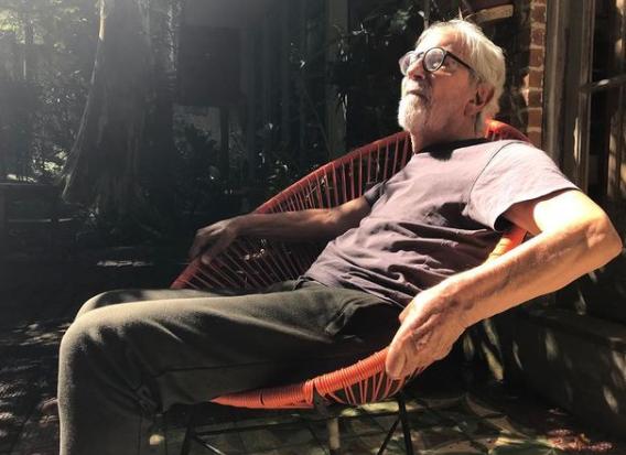 Registro do ator e diretor Paulo José – Foto: Instagram/Reprodução/ND