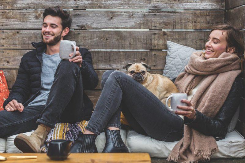 Felicidade entre homem e mulher – Foto: Pixabay