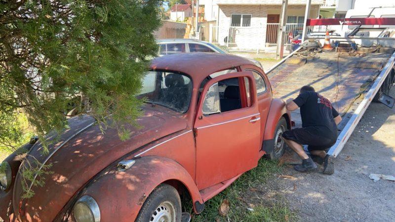 Guarda Municipal de Florianópolis guinchou 37 veículos abandonados na Capital – Foto: PMF/Divugação/ND