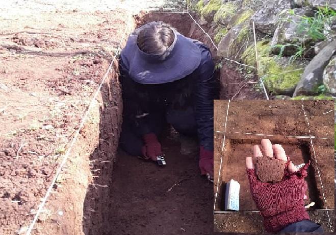Entre os objetos encontrados está, principalmente, cerâmica indígena. – Foto: PMI /Divulgação/ND