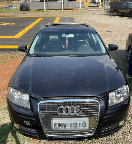 Criminoso utilizava carro de importado que também foi apreendido – Foto: Polícia Civil/Divulgação ND